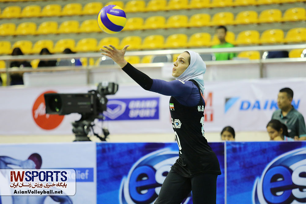 مائده برهانی در مسابقات والیبال کاپ آسیا AVC CUP ؛ دیدار تیم های ایران و قزاقستان 1 هدف مائده برهانی در کچورن اسپور: صعود به سوپر لیگ والیبال زنان ترکیه