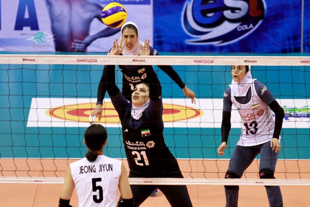 والیبال کاپ آسیا / ایران ۱ کره جنوبی ۳ ، پایان رویا پردازی برای رتبه پنجم آسیا