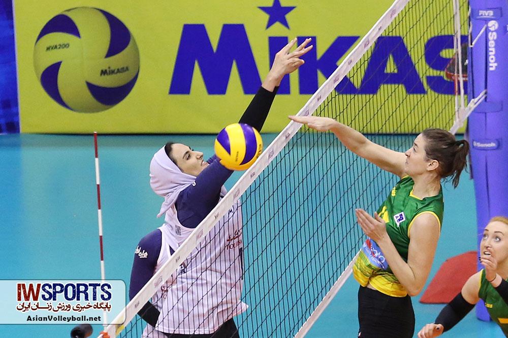 اظهارنظر دختران ملی پوش والیبال بعد از برتری برابر استرالیا