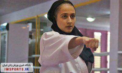 کاراته قم ایثار ورزش بانوان 10 کاتا 400x240 مرحله دوم کاراته وان/تهران قهرمان شد ؛ سپیده امینی و ملیکا عزتی؛ آینده سازان کاتا