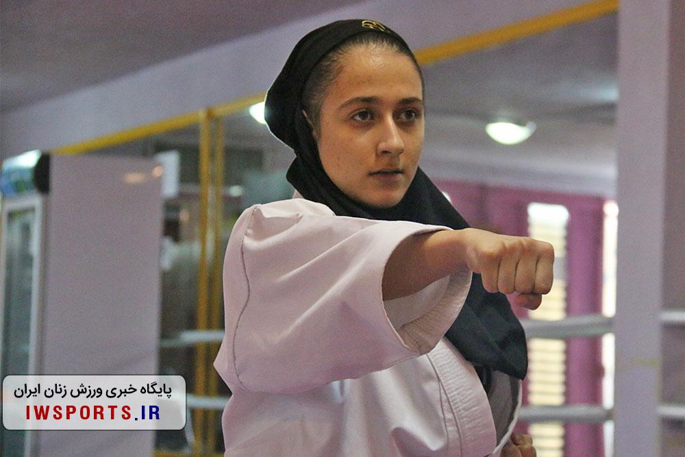 مرحله دوم کاراته وان/تهران قهرمان شد ؛ سپیده امینی و ملیکا عزتی؛ آینده سازان کاتا