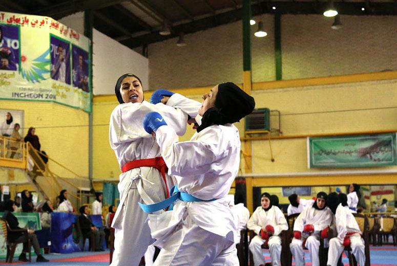 برنامه مسابقات دختران کاراته ایران در جام جهانی اسپانیا