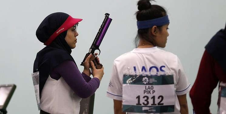 ناکامی دختران تیرانداز ایران در تپانچه ۲۵ متر مسابقه های جهانی کره جنوبی