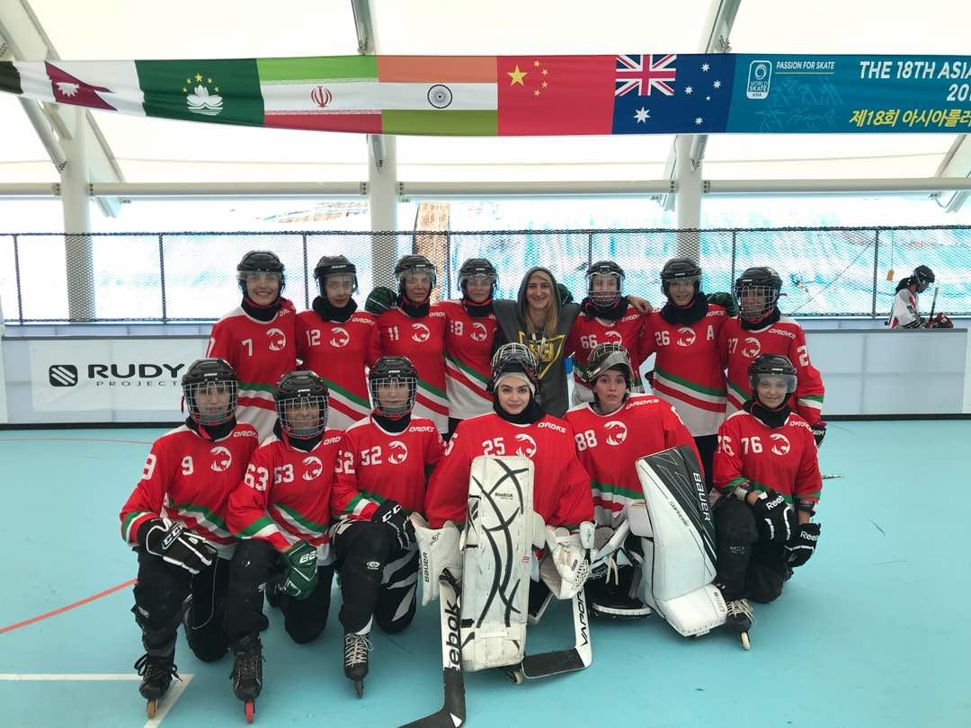 اسکیت اینلاین هاکی قهرمانی آسیا/ توقف دختران ایران برابر ژاپن و چشم امید به نقره