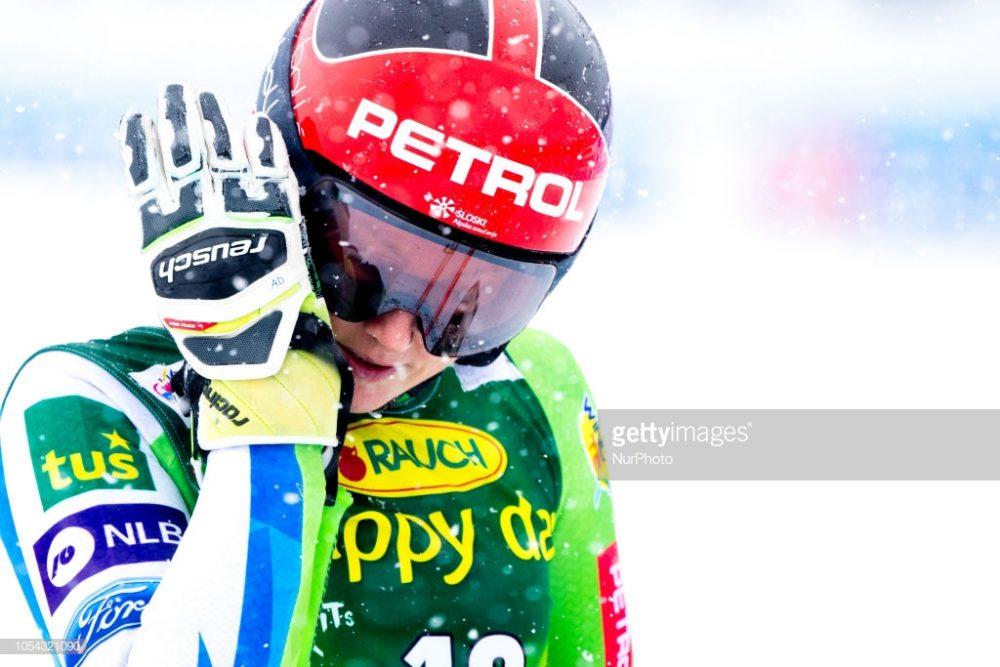 اسکی آلپاین اسلالوم در سولدن 12 1000x667 گزارش تصویری مسابقات اسکی جهانی آلپاین اسلالوم در اتریش