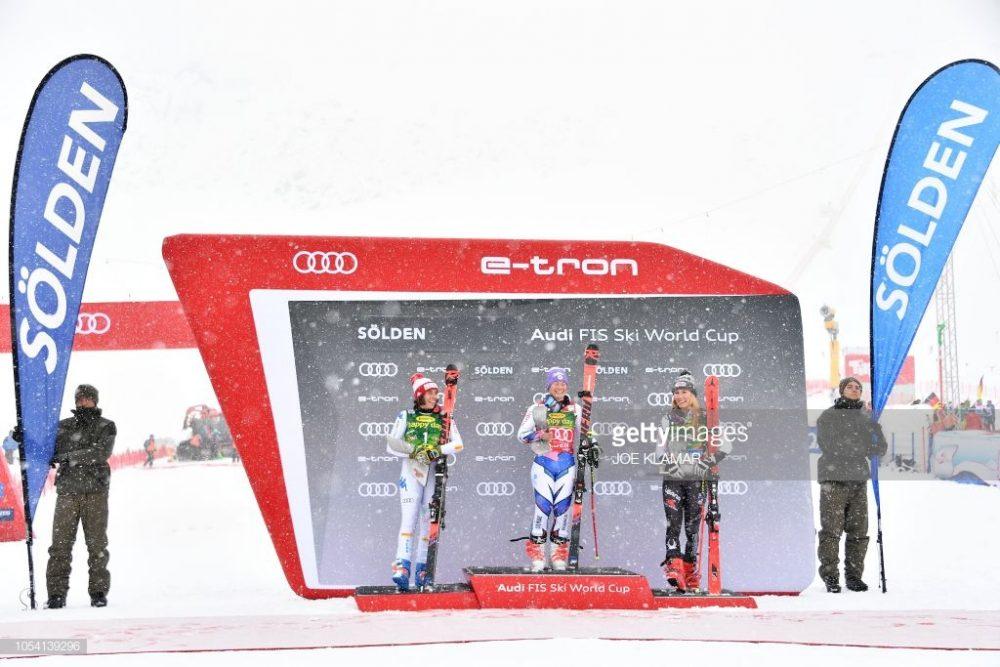 اسکی آلپاین اسلالوم در سولدن 4 1000x667 گزارش تصویری مسابقات اسکی جهانی آلپاین اسلالوم در اتریش