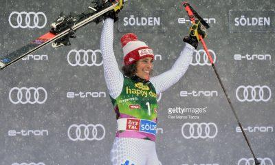 اسکی آلپاین اسلالوم در سولدن 5 400x240 گزارش تصویری مسابقات اسکی جهانی آلپاین اسلالوم در اتریش