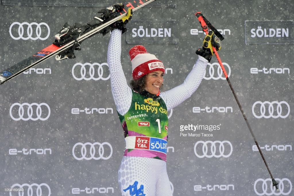 گزارش تصویری مسابقات اسکی جهانی آلپاین اسلالوم در اتریش