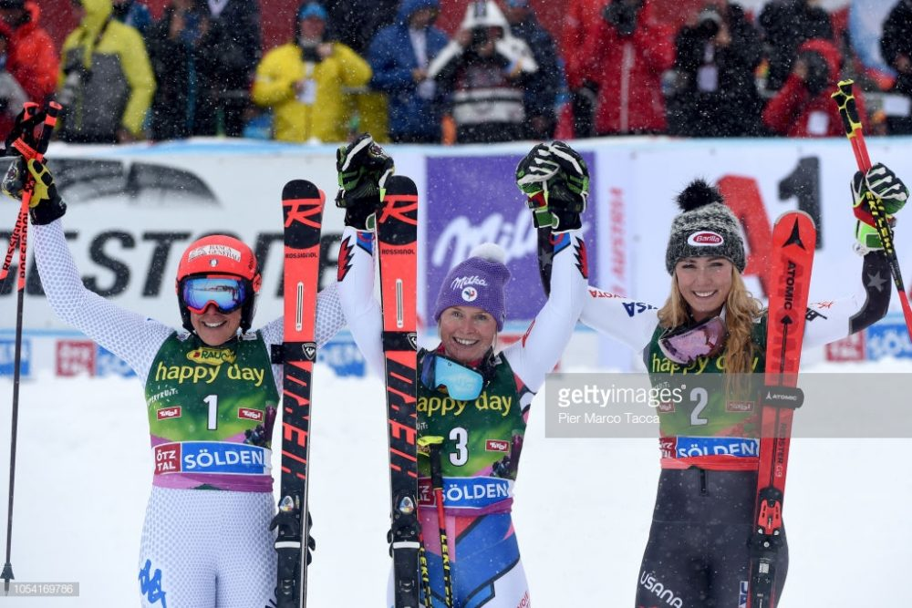 اسکی آلپاین اسلالوم در سولدن 8 1000x667 گزارش تصویری مسابقات اسکی جهانی آلپاین اسلالوم در اتریش