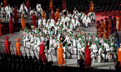 افتتاحیه پارا آسیایی جاکارتا 4 400x240 تصاویر افتتاحیه بازی های پارا آسیایی جاکارتا و پرچمداری ساره جوانمردی