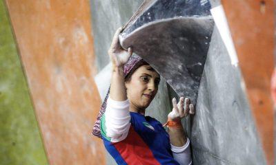 الناز رکابی 400x240 دومین مرحله جام جهانی سنگ نوردی | دختران ایران به نیمه نهایی نرسیدند