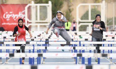 الناز کمپانی در مرحله سوم لیگ دو و میدانی بانوان 400x240 دانشگاه آزاد قهرمان لیگ دو و میدانی بانوان شد