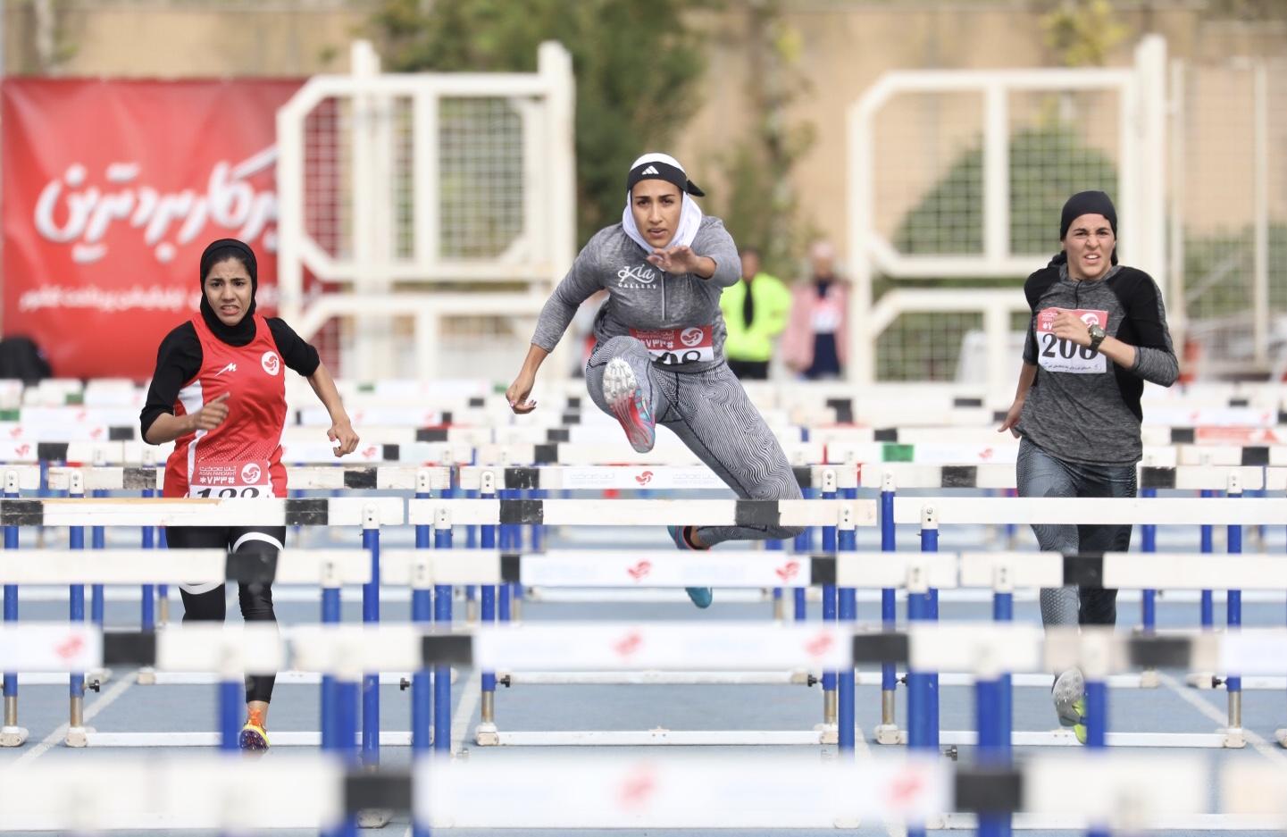 برنامه مسابقات دختران دو و میدانی ایران در قهرمانی آسیا