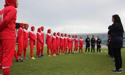 تمرین تیم ملی فوتبال جوانان دختر در میانمار 1 400x240 اعزام تیم ملی فوتبال با 12 تغییر به مسابقات اتحادیه آسیای مرکزی