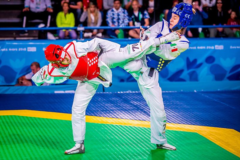 تکواندوکاران دختر ایران در المپیک جوانان آرژانتین ، یلدا ولی نژاد یلدا ولی نژاد: سد راهم در منچستر بی تجربگی بود | در منهای ۶۷ کیلو خودم را ثابت می کنم