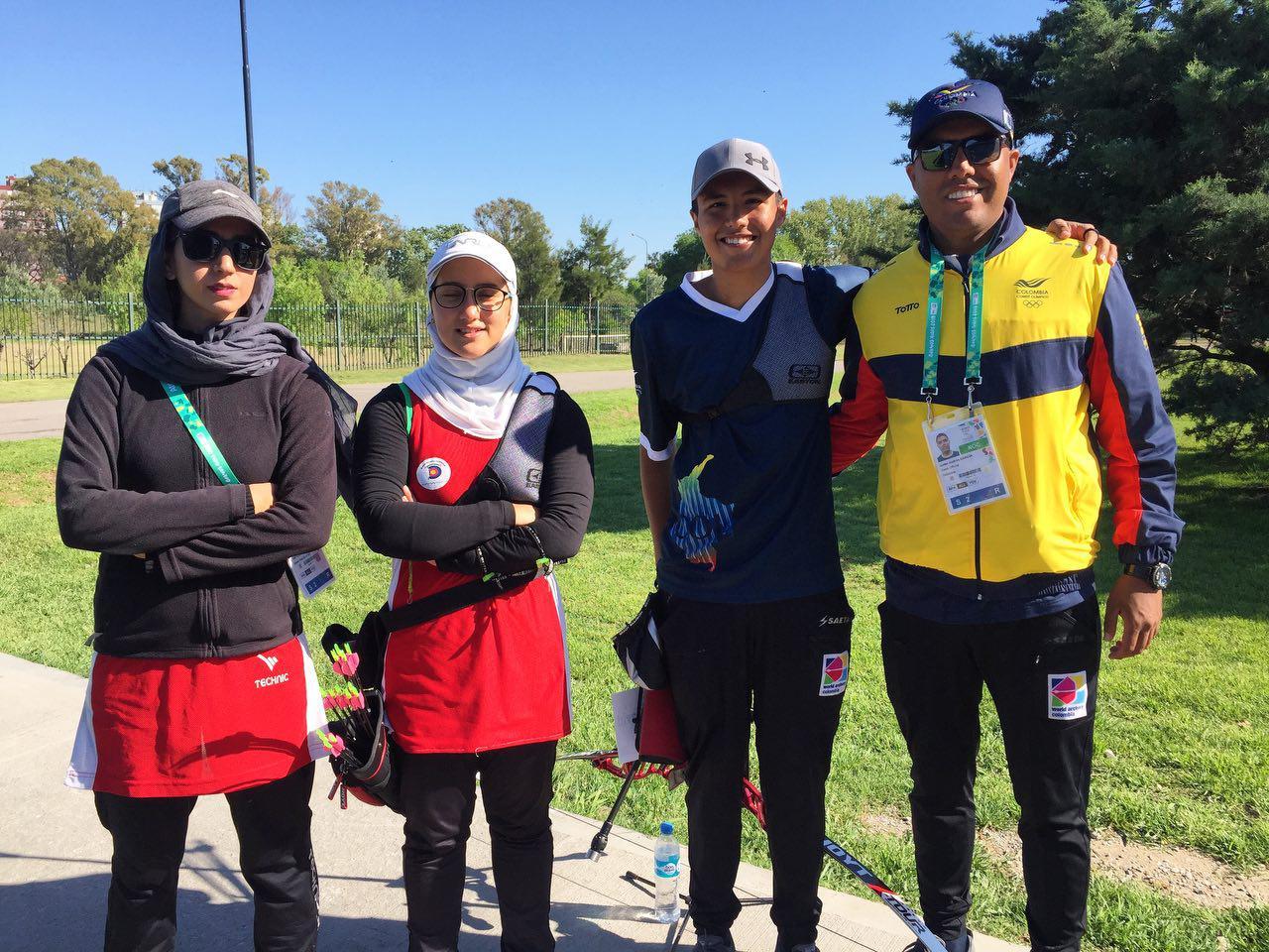 ویدئو نظرات سوگند رحمانی پس از مسابقات میکس تیر و کمان المپیک جوانان
