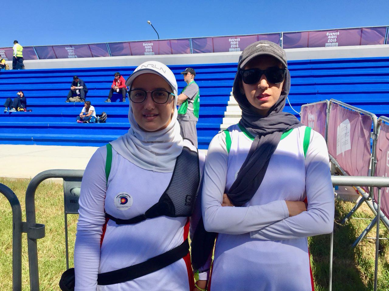 المپیک جوانان / پایان کار سوگند رحمانی در تیراندازی با کمان