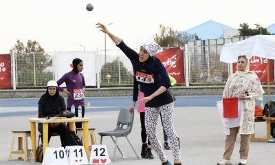 دو و میدانی المپیاد استعدادهای برتر 34 400x240 گزارش تصویری المپیاد استعدادهای برتر دو و میدانی کشور در تهران