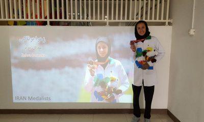زهرا برناکی 400x240 پارا آسیایی جاکارتا/ مدال برنز زهرا برناکی در پرش طول ؛ در حسرت طلا