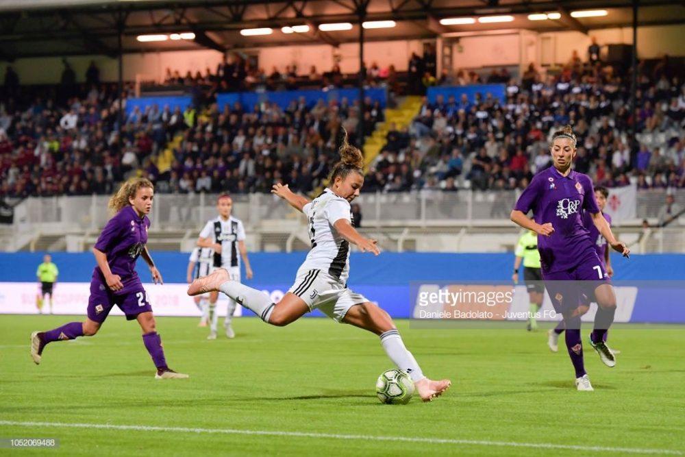 سوپر کاپ فوتبال زنان ایتالیا بین یوونتوس و فیورنتینا 1 1000x667 تصاویر دیدار تیم های فوتبال زنان یوونتوس و فیورنتینا در سوپر جام ایتالیا