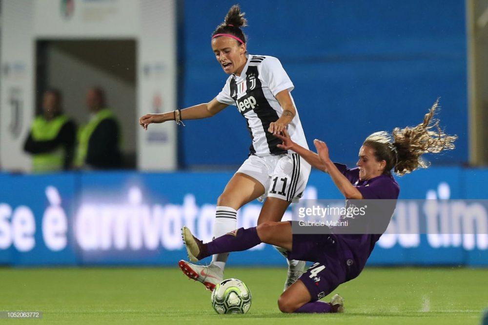 سوپر کاپ فوتبال زنان ایتالیا بین یوونتوس و فیورنتینا 11 1000x666 تصاویر دیدار تیم های فوتبال زنان یوونتوس و فیورنتینا در سوپر جام ایتالیا