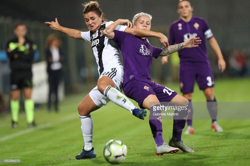 سوپر کاپ فوتبال زنان ایتالیا بین یوونتوس و فیورنتینا 13 1000x666 تصاویر دیدار تیم های فوتبال زنان یوونتوس و فیورنتینا در سوپر جام ایتالیا