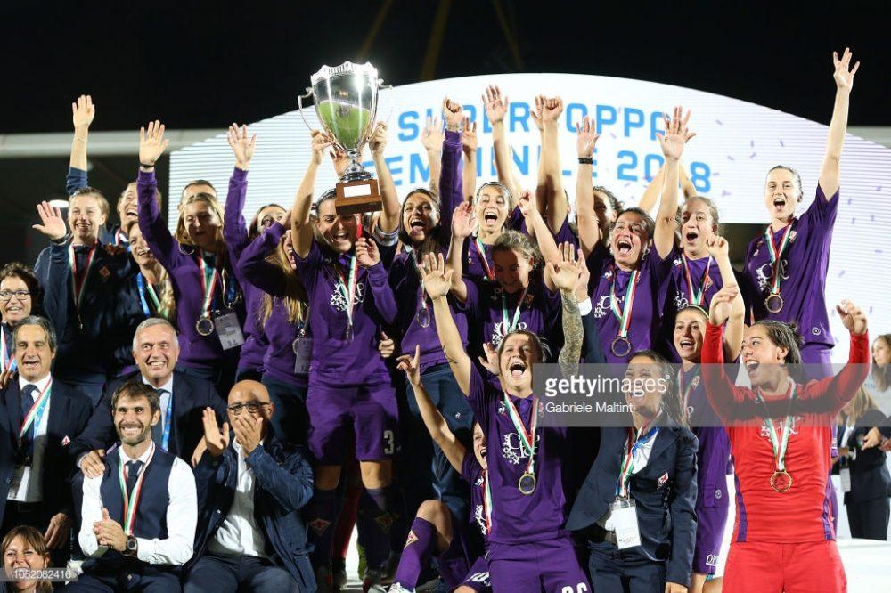 سوپر کاپ فوتبال زنان ایتالیا بین یوونتوس و فیورنتینا 5 1000x666 تصاویر دیدار تیم های فوتبال زنان یوونتوس و فیورنتینا در سوپر جام ایتالیا
