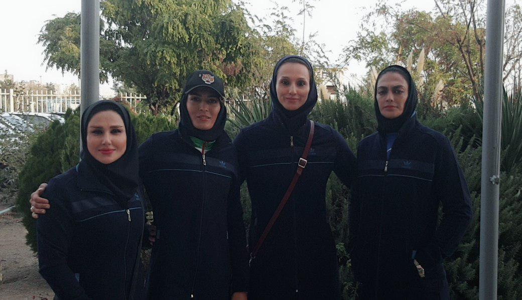 جام جهانی ساندا در چین/ پیروزی خواهران منصوریان و فریناز نذیری در گام اول