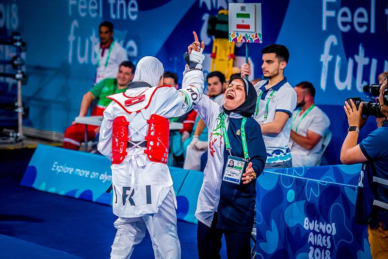بررسی عملکرد دختران ورزشکار ایران در المپیک جوانان آرژانتین