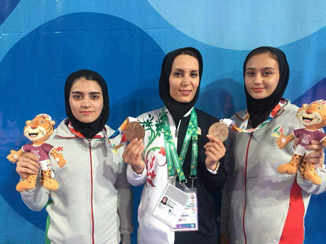 ویدئو مبارزه دختران کاراته کای ایران در المپیک جوانان آرژانتین