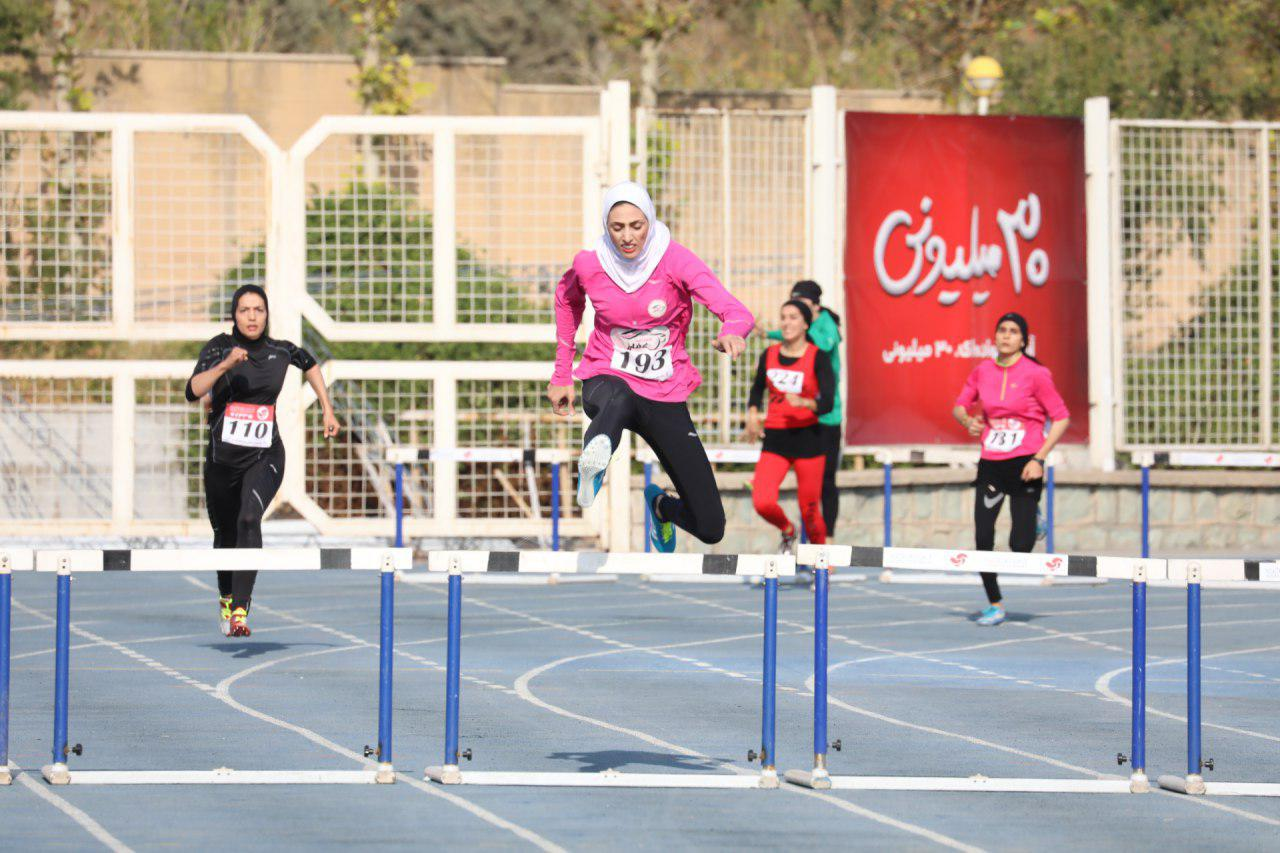 دو و میدانی انتخابی تیم ملی ؛ تکتم دستار بندان رکورد ۸۰۰ متر ایران را شکست