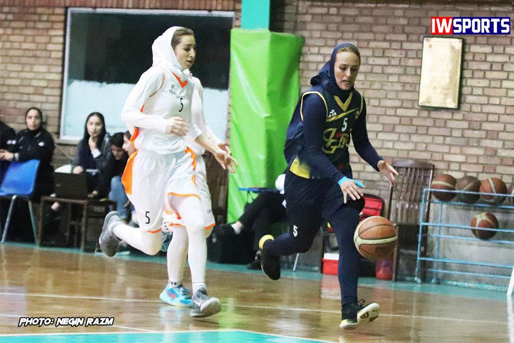 هفته دوم لیگ برتر بسکتبال بانوان / پیروزی بزرگ نفت در آبادان ؛ هیرو دوباره سه رقمی کرد!