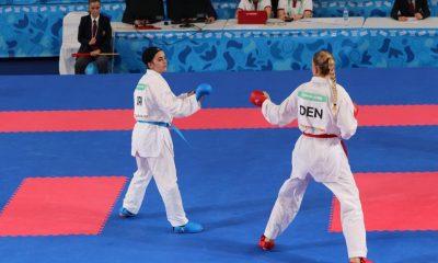 نگین آلتونی در کاراته بازی های المپیک جوانان در آرژانتین 400x240 المپیک جوانان / نگین آلتونی در کاراته به مدال برنز رسید