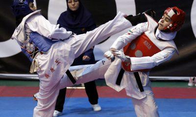 هفته سوم و چهارم لیگ برتر تکواندو بانوان جام کوثر 6 400x240 فراخوان 50 دختر تکواندوکار در انتخابی 4 وزن المپیکی تیم ملی