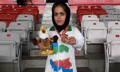 ژیلا یوسفی 400x240 پارا آسیایی جاکارتا / 2 مدال برای پرتابگران ایران و از خودگذشتگی هاجر صفر زاده برای مدال