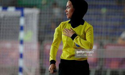 گلاره ناظمی ، افتخار داوری فوتسال زنان ایران 400x240 ویدئو گفتگو با گلاره ناظمی داور فینال فوتسال المپیک جوانان آرژانتین