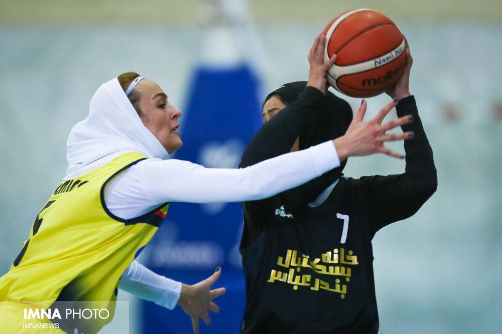 خانه بسکتبال بندرعباس 66 نارسینای تهران 58 / پیروزی دشوار میزبان