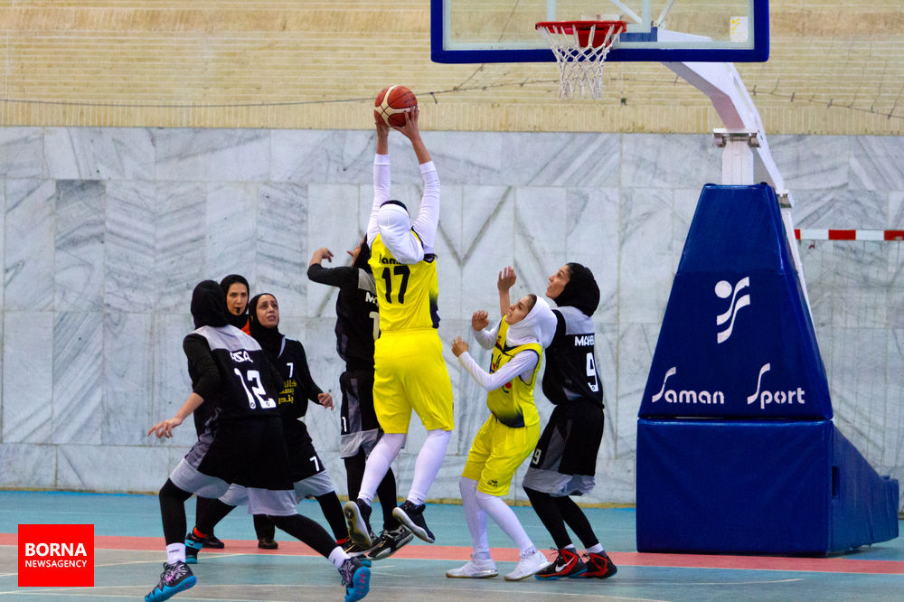 صدرای شیراز 54 خانه بسکتبال بندرعباس 64 / دومین پیروزی برای نماینده هرمزگان