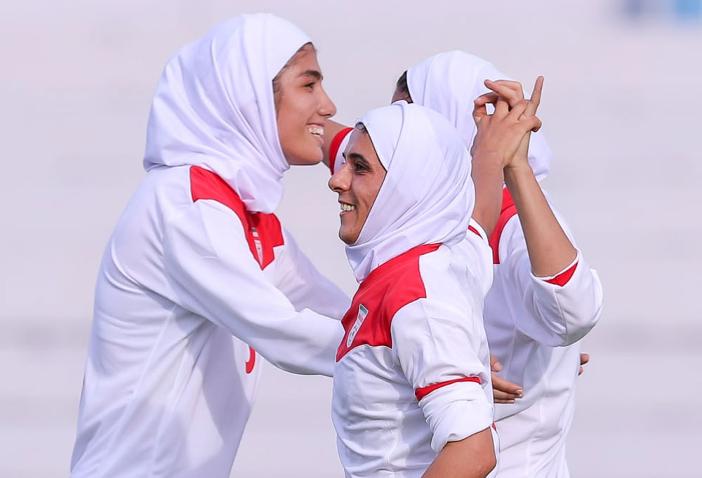 تیم ملی فوتبال بانوان ایران 8 لبنان صفر مقدماتی المپیک الهام فرهمند فوتبال مقدماتی المپیک / پیروزی 8 گله دختران ایران برابر لبنان