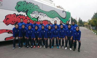 تیم ملی فوتبال بانوان در تورنمنت کافا 400x240 تورنمنت فوتبال بانوان کافا / پیروزی 6 گله ایران برابر افغانستان