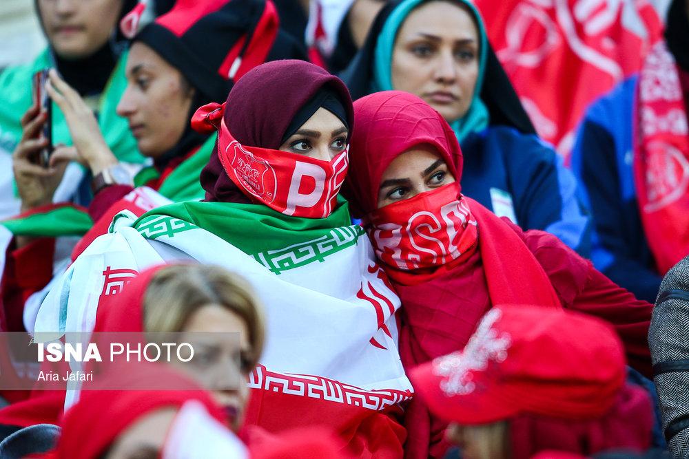 حضور زنان در ورزشگاه آزادی در دیدار فینال لیگ قهرمانان آسیا 11 ادامه تبعات دختر آبی | فیفا هیئت تحقیق به ایران اعزام می کند