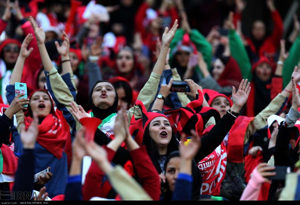 حضور زنان در ورزشگاه آزادی در دیدار فینال لیگ قهرمانان آسیا 21 فیفا خواستار ورود زنان ایران به ورزشگاه در مسابقات لیگ شد