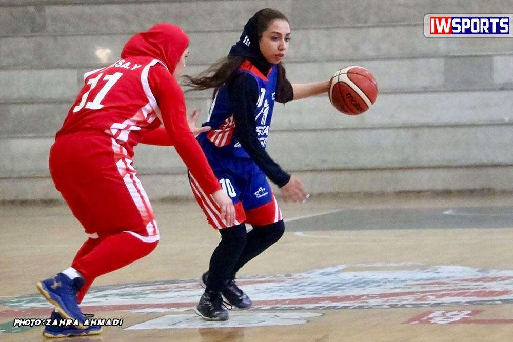 دانشگاه گلستان هیرو تهران لیگ برتر بسکتبال بانوان 5 هفته نهم لیگ برتر بسکتبال؛ پیروزی قاطع هیرو و دانشگاه آزاد و تریپل دبل الناز سیاهی