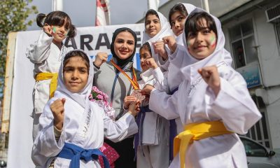 سارا بهمنیار 400x240 دختران کاراته ایران در رنکینگ جهانی | سارا بهمنیار تنها یک رقمی ایران