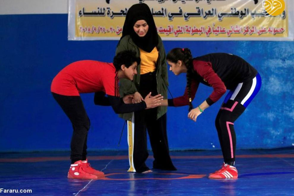 عالیه حسین کشتی زنان در عراق توسعه کشتی زنان در خاورمیانه ؛ پس از ایران نوبت به عراق رسید