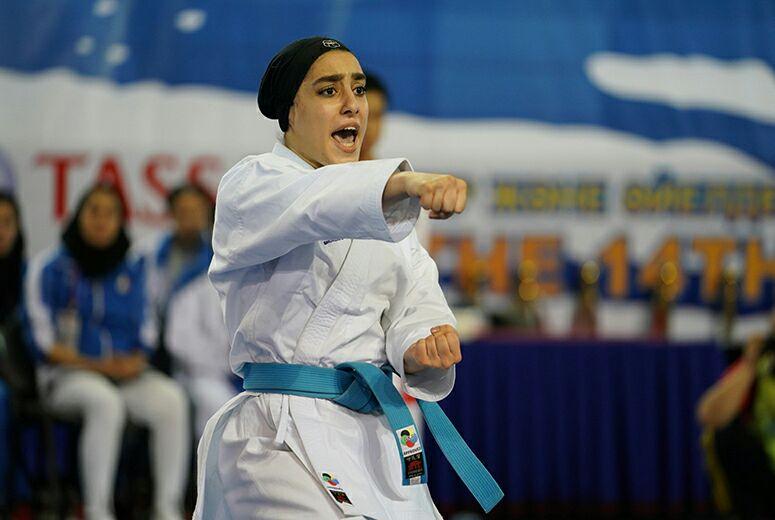 نگاهی بر عملکرد فاطمه صادقی در کاتای انفرادی جام جهانی کاراته اسپانیا