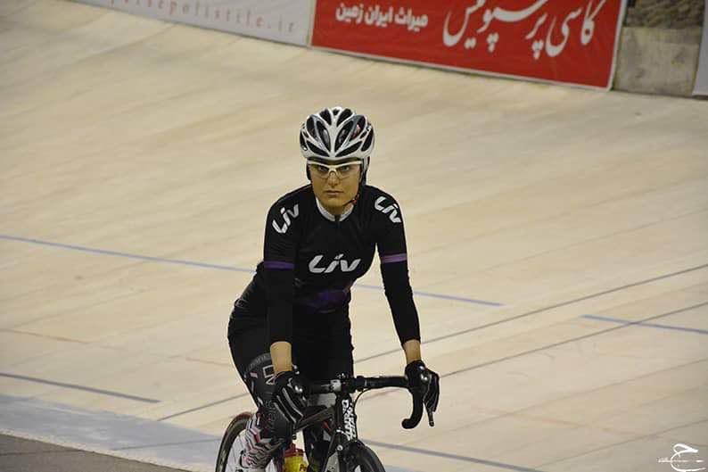 فروزان عبداللهی ؛ دورخیز برای موفقیت در دوچرخه سواری نیمه استقامت آسیا