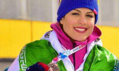 فروغ عباسی اسکی 400x240 فروغ عباسی: قیمت هر جفت اسکی از ۵ به ۲۰ میلیون تومان رسیده است