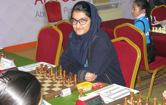 مبینا علی نسب از رقابت با شطرنج باز رژیم صهیونیستی انصراف داد