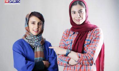 محیا دارابیان و الناز رکابی 400x240 دختران سنگ نورد ؛ ستاره های امروز و فردا (عکس)